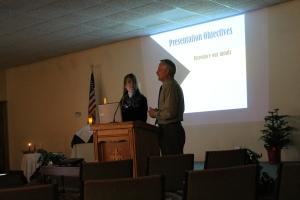 Presentation at Living Faith in Viroqua, WI