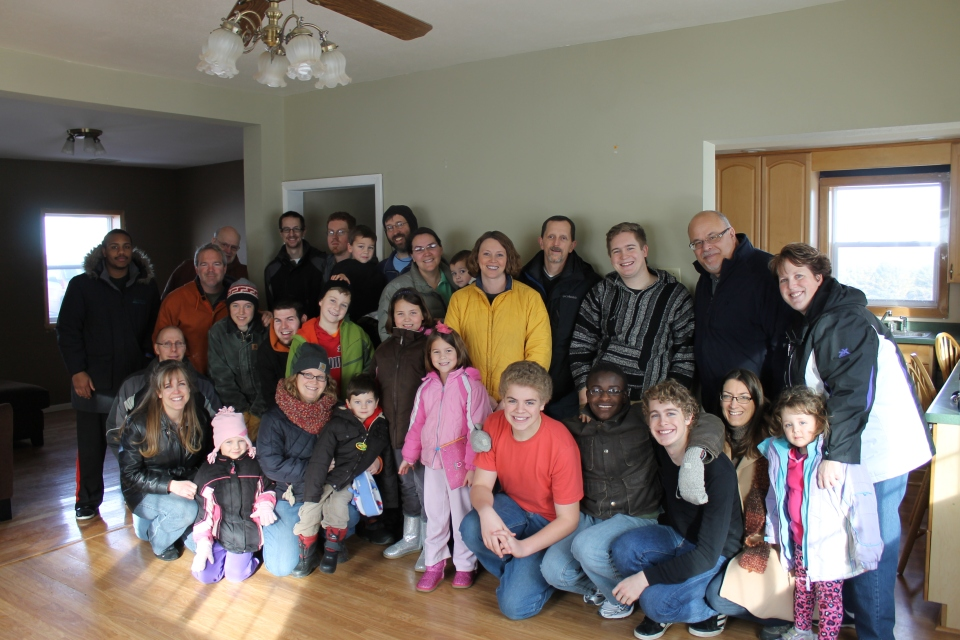 Our send-off party, LWBC and Grace Church family.  Love these people!