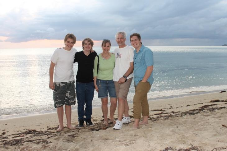 Adelaide Beach.
