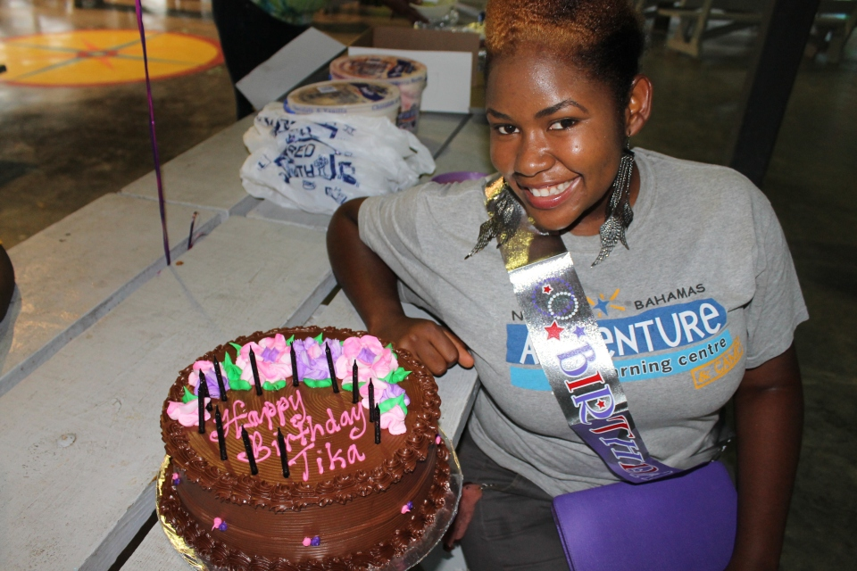 Happy Birthday, Tika!  (one of our facilitators)