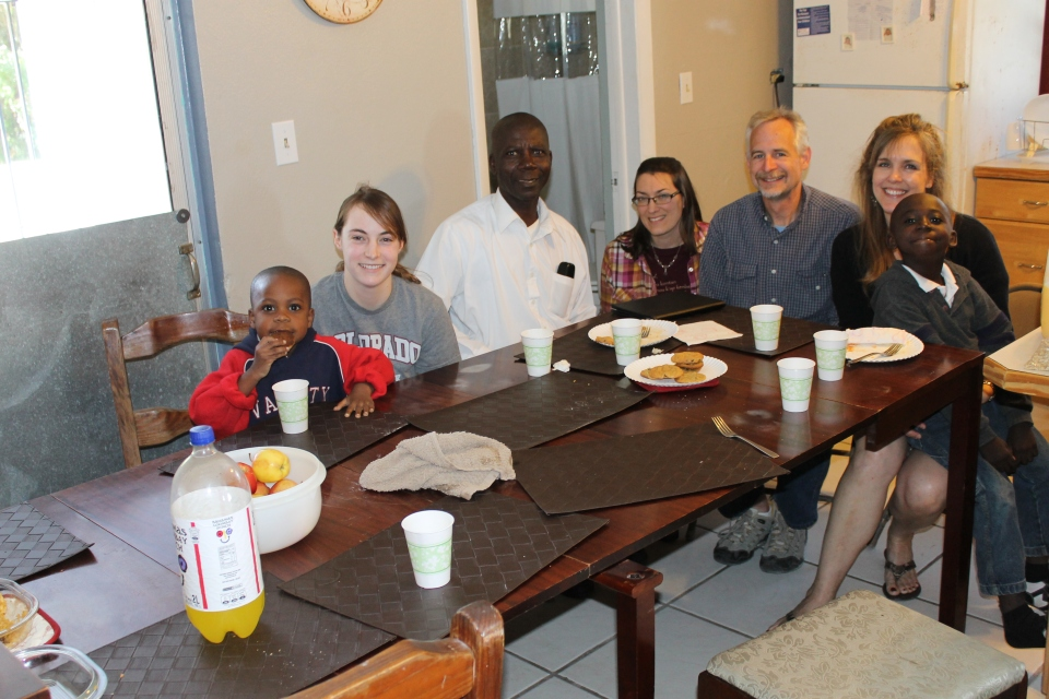On Monday, we had Pastor Basile over for lunch to learn about his ministry with the Haitian community and to introduce him to Katie and Sheila.  He is the pastor of United Alliance Church where we attended church the day before.  This meeting was a highlight for all of us.