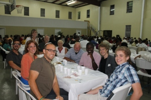 Our ALC family who joined us for the Seder Supper