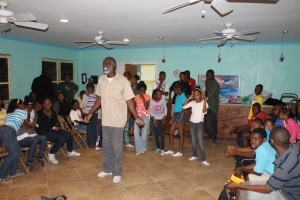 The Boy's Brigade from Abundant Life Bible Church used the camp for an activity night.
