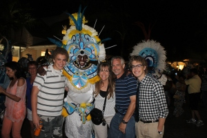 Our consensus is that we are looking forward to the reall Junkanoo Parade that takes place the day after Christmas!