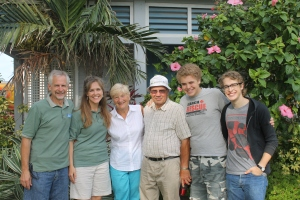 Departure day for Bob and Faye Browning.