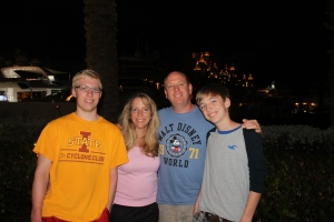 Paul and Stephanie Campbell with their sons, Cody and Caleb came to visit us and serve with us.