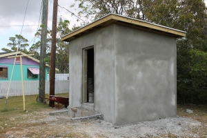 Electric meter house for the electric upgrade