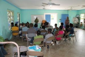 "Monday, May 20th was a national holiday here in The Bahamas.  It is Whit Monday (celebration of Pentecost).  Schools were closed, and our church took the opportunity to get together to have a seminar for youth called ""Real Talk"".  The event was held at ALCC."