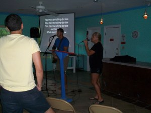 John and Alexis Williams leading worship weeks 2 and 3 of Mission Discovery