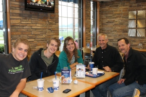 On Wednesday, we met with Pastor Rich Maurer for supper at Culvers (another one checked off our bucket list).