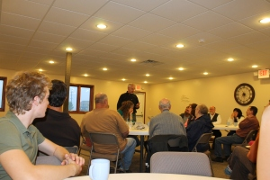 We had the chance to meet and greet friends from the Viroqua/Westby, WI area on Wednesday, June 5th.  Tim gave a quick ministry update, and then we had a question and answer time.