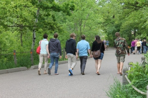 We went to the Minnesota Zoo together.  We loved watching our 6 adult children interacting together.  What a blessing!