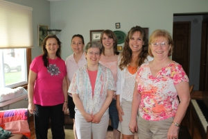 On Tuesday, June 11th, Tim flew back to the Bahamas from Minneapolis.  Later that afternoon, some Eden Baptist Church ladies came to visit us at our friend's house.