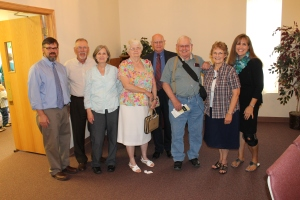 Some of the people that used to attend Edgewood Baptist Church in Danville, IL when Mindy was a little girl.