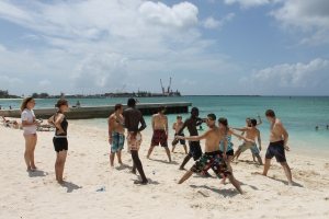 Beach day on Fridays during Mission Discovery weeks.