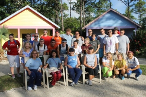 Mission team from Peace Church in Wilson, NC.