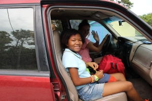 Our young lady from Fort Lauderdale, FL who had come for Immersion Camp also left on Saturday.  Her name is Sarah.