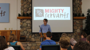 On Thursday evening during camp, I was able to share an update on our family's ministry work at the ALC and how God orchestrated our move to Nassau.  Afterwards, Logan shared a message with the campers.