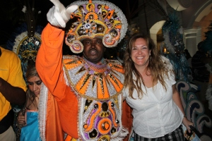 It was a late night that ended with introducing Missy, Liam and the Stauss group to Junkanoo at Marina Village.