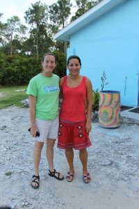 With Jen is our new facilitator, Marion.  She will be with us for a couple of months before going to work in Haiti.
