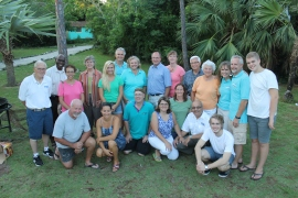 Everyone staying at camp:  along with our staff are Paul and Beth Hadley, Humphrey and Marilyn Duncanson,, Alfred and Maria Nakhla, Nate Kaiser, Randy and Kim and Annika Grebe, Roger and Grace Grebe, and Jon and Annemieke.