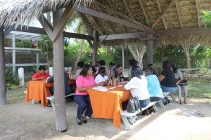 Every month, the Bahama school principals meet at various venues to hold their principals meeting.  This month we hosted the principals at the Centre.  During their  break, we served them lunch. 140 30