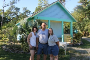 This is Bob and Judy Balson and Judy's sister Jill Wolf (on the left).  Bob and Judy are in the works of coming to the island to work full time with us here at the Camp.  They are from Wisconsin and are currently waiting for their house to sell.  We are praying they are here by early January.