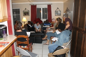 Sunday evening we had our 4th and final Kingdom Life membership class at our house.  We LOVE these people and are so glad God has brought us to this fellowship.