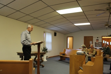 Sunday evening, we presented an update at another supporting church, Hillery Bible Chapel in Danville, IL.