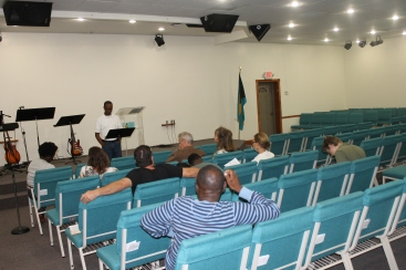 Sunday evening we began membership classes at Kingdom Life Church.
