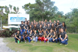 30 American Medical Student Association members from Florida Atlantic University came for a mission trip December 16th-20th