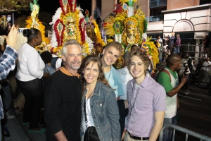 After ringing in 2014, we went down town to watch a couple hours of Junkanoo on Bay Street...