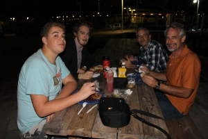 ...we and our assistant pastor, Keith Bunting, went to Paradise Island to grab a bite to eat at Green Parrot and...