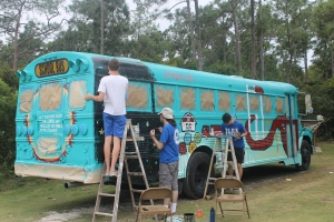 Judson served at the Centre and Camp, served at All Saints Camp, and designed and painted the art work on the new-to-us bus.