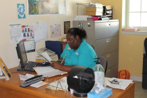 Eldora is the office manager at the Centre.  We can not thank her enough for all she does.