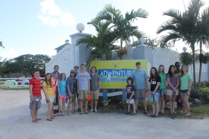 ...while I took the Judson University group on a tour of the Adventure Learning Centre