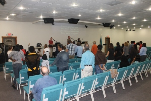 Friday evening, February 28, we had a prayer and praise time at church with pastor and song writer Doug Plank.