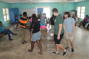 ...fun.  The highlight was the different age levels of musical chairs.