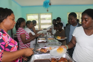 ...food (no picnic is complete without food, and Bahamians know how to cook!)...