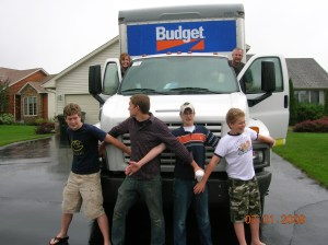 We packed-up our house in Rosemount, Minnesota and moved to Westby, Wisconsin in July 2009.