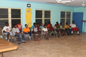 This past weekend Ms. Ada had Boys Brigade here at Camp.  It was fun hearing the laughter of children around Camp.
