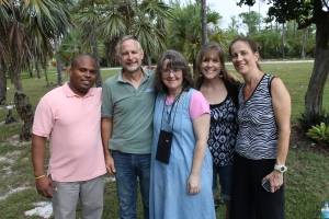 This past Wednesday we hosted Richard (left), Christy (center), and Elke (right) from Florida for a day.  They came to bless and encourage the ALC&C.