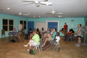 We have been getting together on Monday nights for the Truth Project.