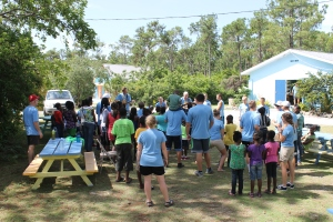 What better place to have a VBS then at Adventure Learning Camp.  It is safer and has more green space then most churches.  We are hoping more mission teams take advantage of our space and host more VBS outreaches for children here at Adventure Learning Camp!