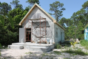 During the day when Mission Discovery was off site, we began getting the unfinished cottage prepped for construction to commence.