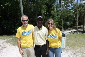 The last day of Mission Discovery was July 12th.  This is Pastor Bazile, one of the Haitian pastors that MD mission teams works with.