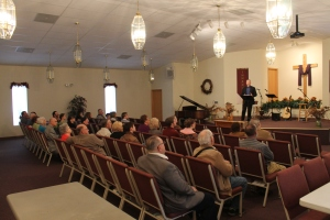 On Sunday the 30th, Tim shared an update with Edgewood Baptist Church and then preached afterwards.