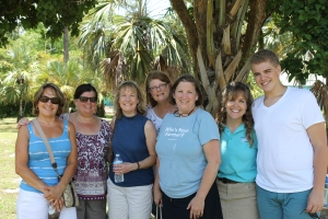 We were able to host and tour guide a group of ladies who had come into port on a cruise ship.  This time, the contact was through a lady from our sending church in Wisconsin.