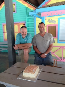 This week we celebrated September and October birthdays (Bob September 11th and Tim October 27th).