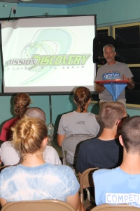 On Sunday, Mission Discovery week 2 began.